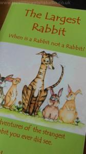The Largest Rabbit Children's book