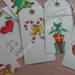 Hand Drawn Christmas Gift Tags